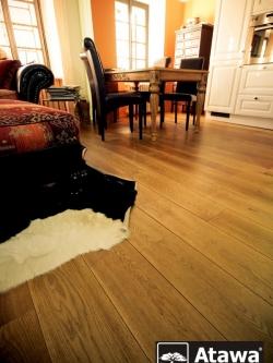 Čím lepit dřevěnou podlahu